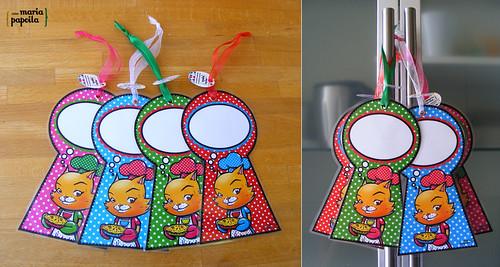 Placas de Porta • Gatinha na Cozinha
