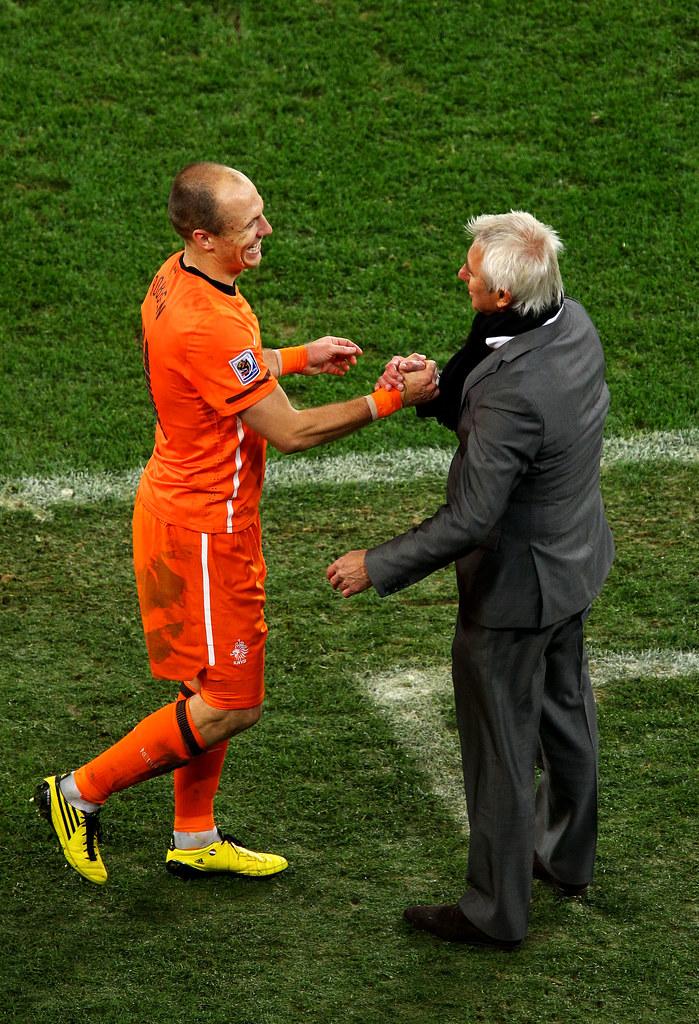 Holland Uruguay World Cup Bert van Marwijk