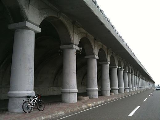 稚内北港防波堤ドーム