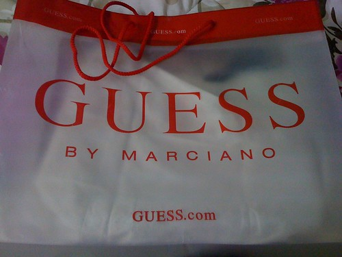 shopping at guess