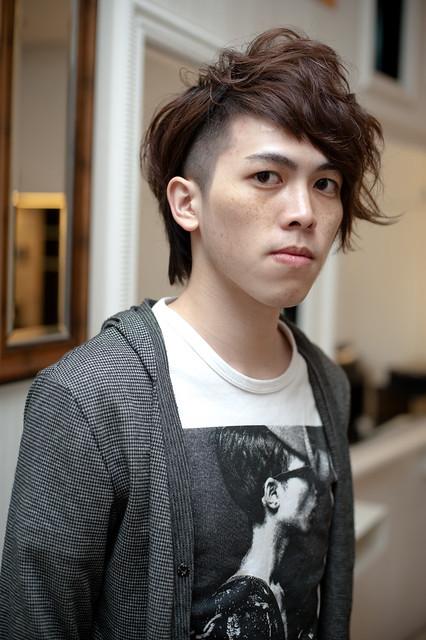【男生发型】帅气质男发型