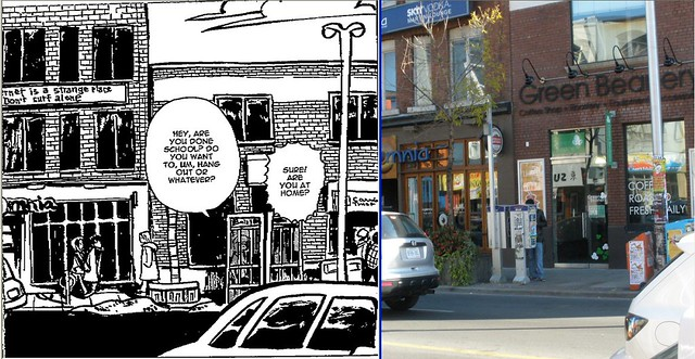 Scott Pilgrim Toronto Canada neighborhood