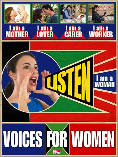 voices for women image