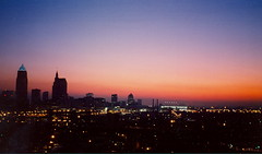 Sunrise over Cleveland, Aug. 16, 1994