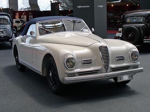Alfa Romeo 6C 2500S cabriolet - 1949