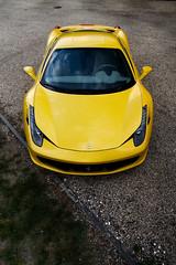 458 Italia ([ JR ]) Tags: face car sport yellow jaune canon eos italia top bordeaux ferrari exotic 17 50 tamron supercar maranello 458 550d fialeix