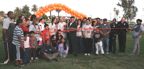 Ramon Garcia Park SNL Ribbon Cutting