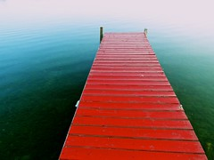 Red Dock (lynn.h.armstrong) Tags: pink blue red summer white ontario canada color colour green art water lines st river geotagged francis island photography photo lawrence aperture long flickr photos sony south cybershot lynn explore deck h posts armstrong dsc stormont gettyimages sault ingleside explored attributionnoderivs ccbynd hx1 dschx1 lynnharmstrong requesttolicense requesttolicence
