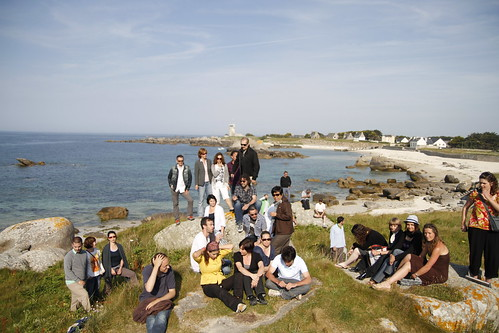 Group photo in Brignogan