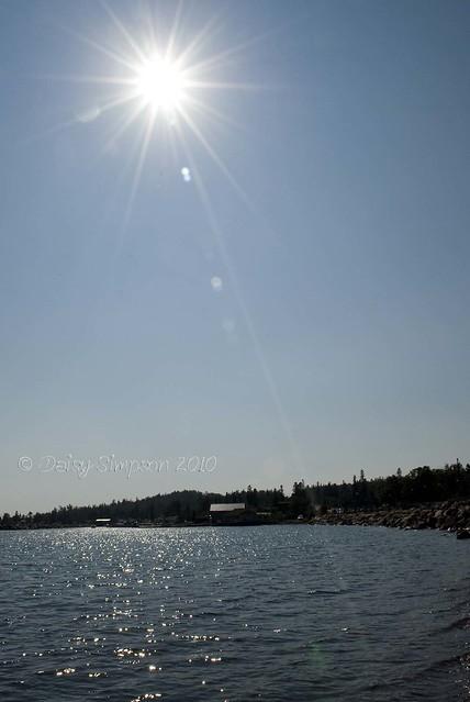 grand marais sunshine