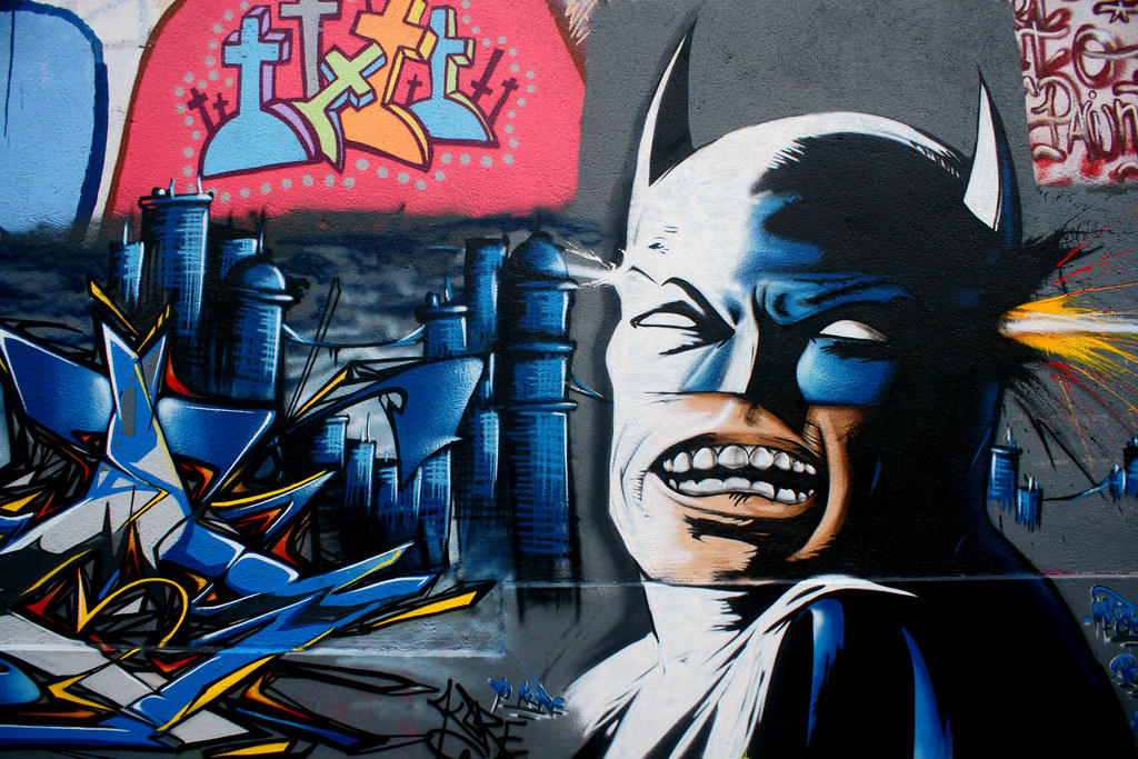 The WorldS Best Photos Of Batman And Pochoir  Flickr Hive Mind