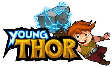 YoungThorLogowithThor