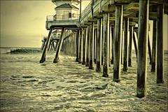 HB pier is empty