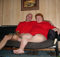 Relaxed in Welaka (TrotlineDesigns (Ron Joseph) In The Glades) Tags: woman sexy girl fat bbw wife milf obese welaka ssbbw gmilf