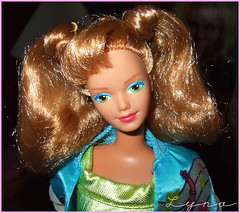 Bopsy and the Sensations 1988 (Lyna J. Grey) Tags: 1988 barbie sensations midge bopsy