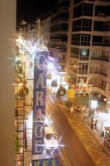 Nächtliche Stimmung in Granada, Andalusien