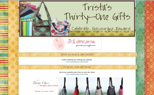Trista's Thirty-One Gifts