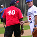 Steve Garvey & Michael Clark Duncan at Steve Garvey's Softball Classic 2010
