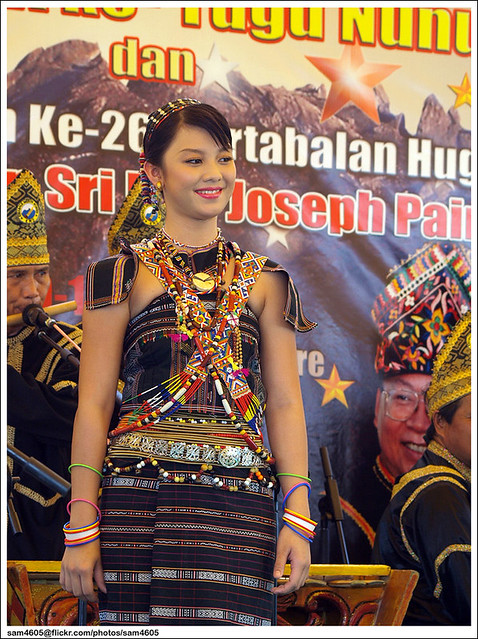 Pesta Nunuk Ragang 2010 - Special Introduction of 2010 Unduk Ngadau Winners