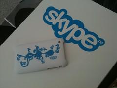 CommunicAsia: Skype iphone Case