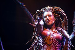 Blizzcon – Sarah Kerrigan (Fearless.Photog) Tags: california costumes cosplay worldofwarcraft warcraft event socal convention blizzcon diablo anaheim starcraft blizzard anaheimconventioncenter blizzardentertainment