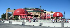 Angel Stadium (Kwong Yee Cheng) Tags: autostitch losangeles baseball orangecounty anaheim angelstadium