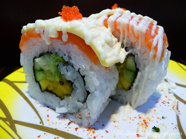 Salmon Mango Cheese Maki