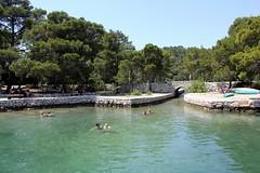 Un baño en la isla de Mljet