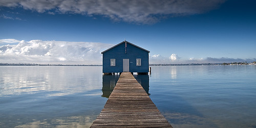 Crawley Boatshed, Perth.