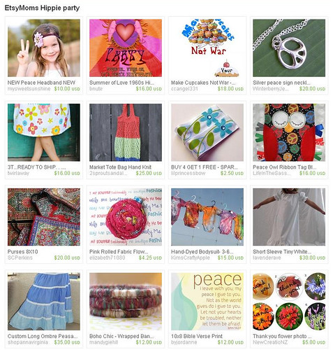 Etsy Moms Hippie Party gift guide weekly