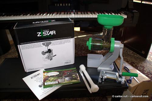 Z-Star Manual Juicer Wheatgrass Juicer