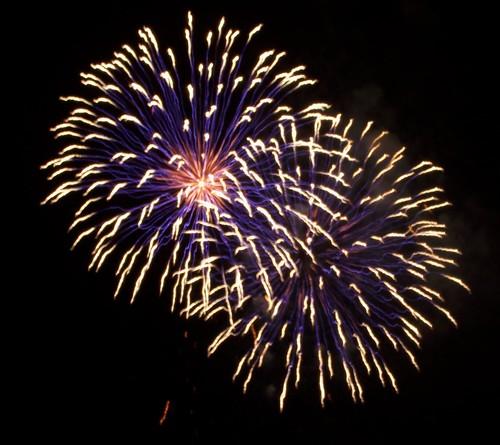 Fireworks over la Rade de Villefranche