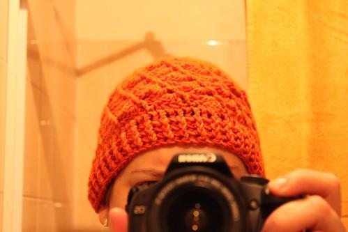 Orange Divine Hat