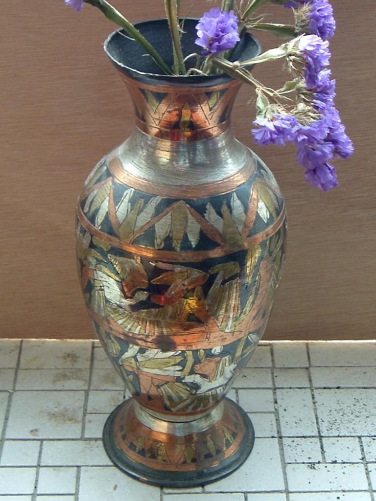 Vase - Egyptian motif a