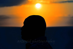 Romancing the bald (Aster-oid) Tags: men profiles silhouettes sunsets greece baldmen tinos baldness balds ff118