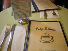 Cafe' Habana, NYC