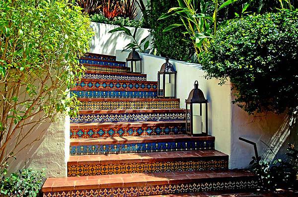 ben stillers house+spanish tile