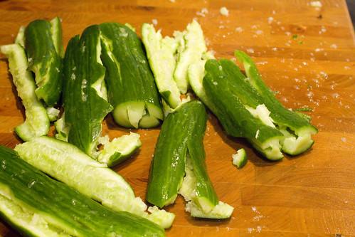 smashing cucumbers