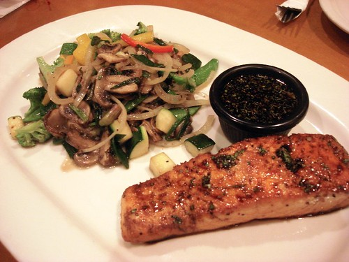 CPK Norwegian ginger salmon