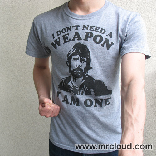 Our Chuck Norris Tshirt isn 39t a new addition but we have new pics of our