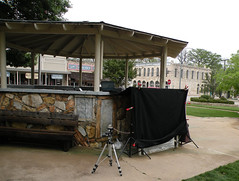 Glen Rose, Texas, band stand