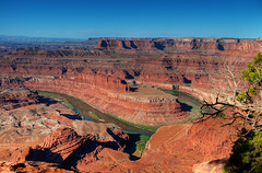 colorado river, dead horse point
