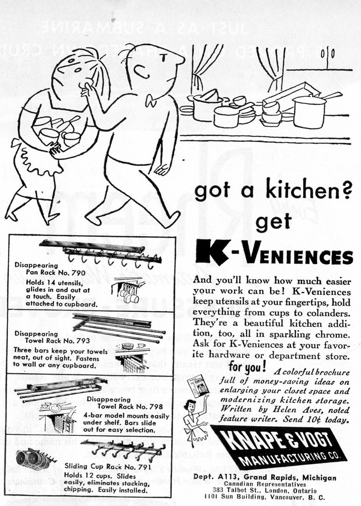 got a kitchen? get K-Veniences