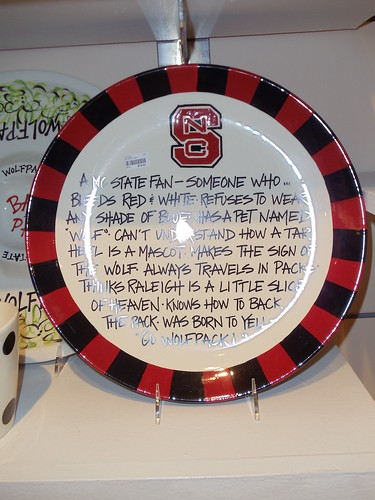 NC State Plate
