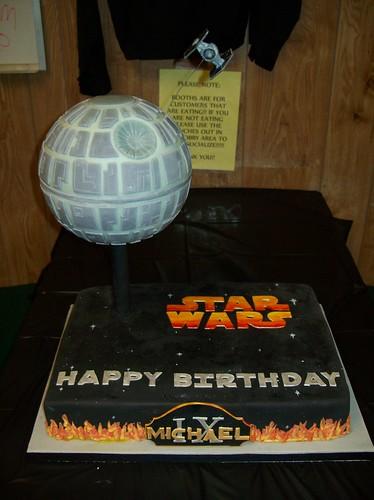 Mikey's Star Wars Cake