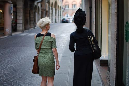 Mariaclara & Diane Pernet
