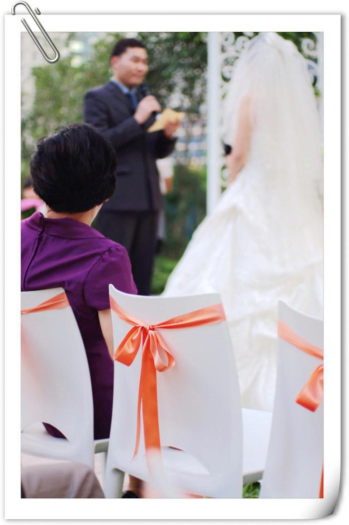 朋友的浪漫戶外婚宴