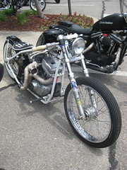 bobber (DJ Saint) Tags: motorcycles hotrods choppers ratrods plymouthmichigan bobers