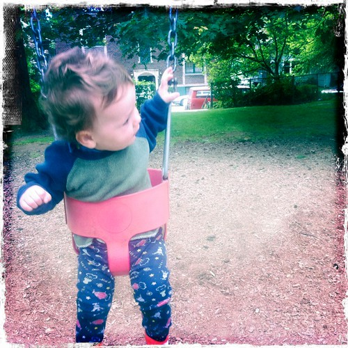 Ian on the Swing