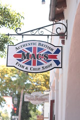 Mac's fish and chip shop